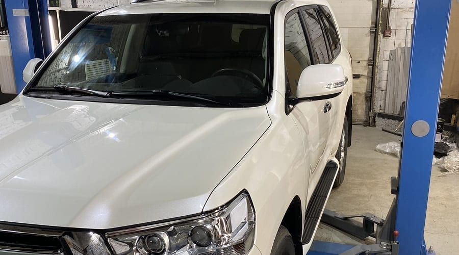 шумоизоляция Toyota Land Cruiser