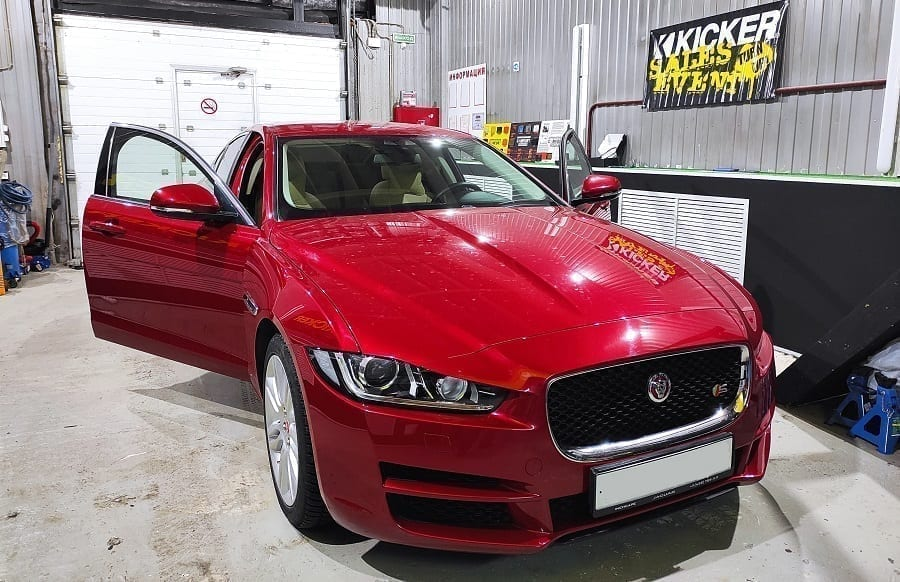 установка камеры на Jaguar